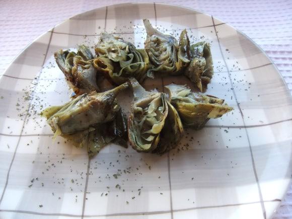 Receta de alcachofas braseadas