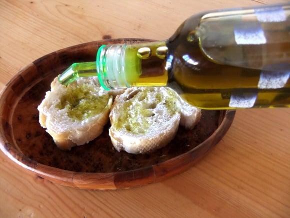 Aceite aromático de setas shiitake