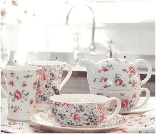 20 originales tazas para tomar t o caf la cocina for Juego de tazas de te