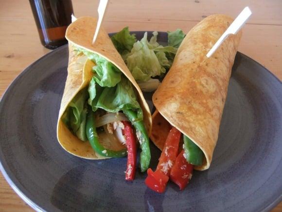 Receta de burritos mexicanos vegetarianos