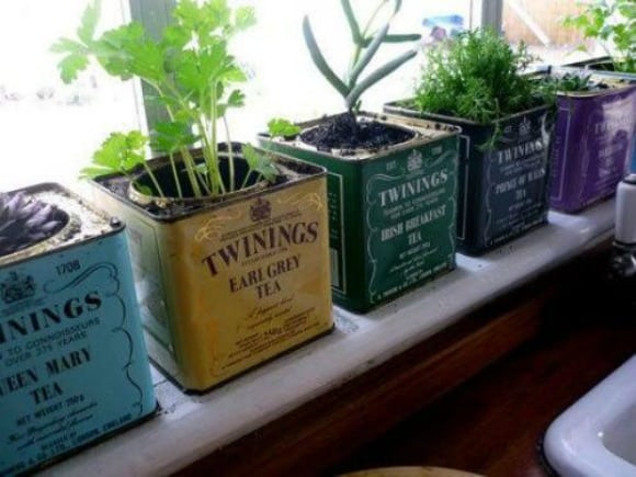 Hierbas aromáticas en la cocina de mil y una formas (deco)