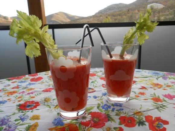 Receta de zumo de tomate afrodisiaco