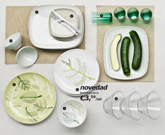 Nuevas vajillas de ikea simplicidad y estilo la cocina - Vajilla de diario ...