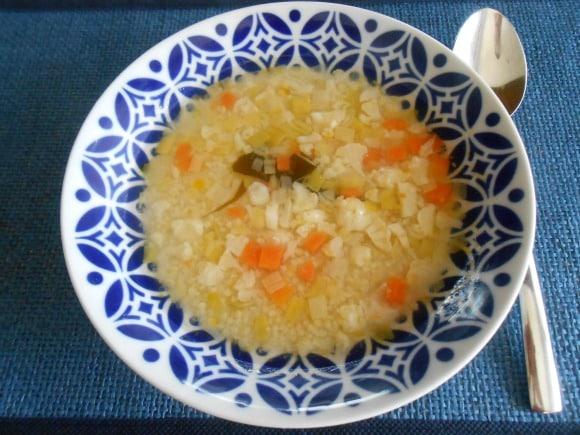 sopa de mijo y miso