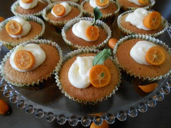 magdalenas naranja y jengibre