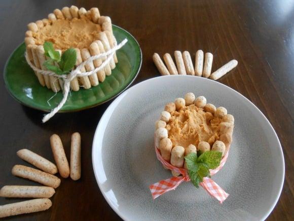 hummus con boniato asado