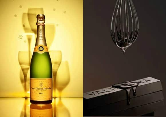 champagne-chocolate