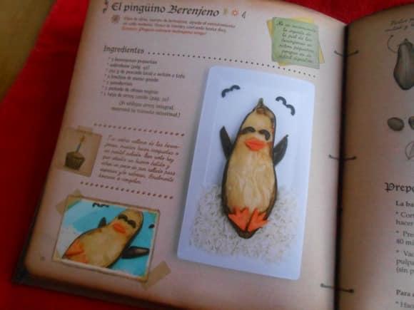 el recetario mágico pinguino