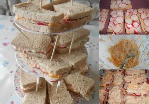 sandwiches pepino