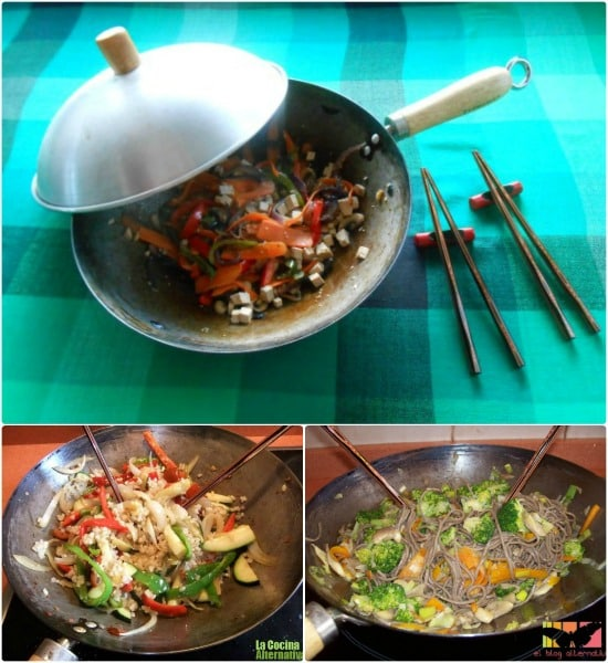wok cuidados