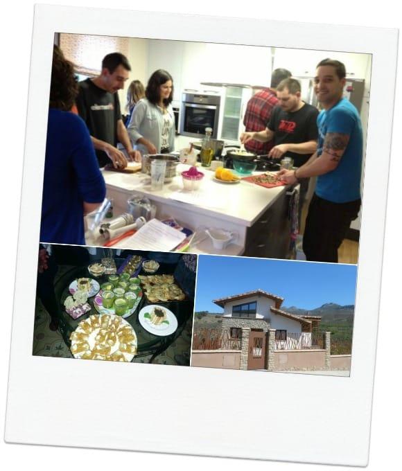 Así son nuestros cursos de cocina en casa