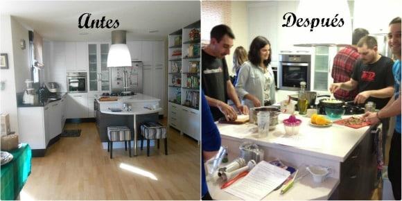 As son nuestros cursos de cocina en casa la cocina - Cocina con clase ...