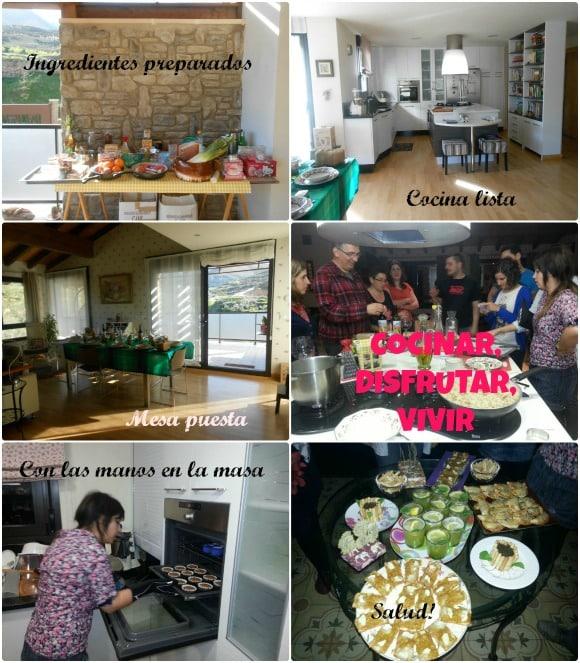 clases de cocina variadas