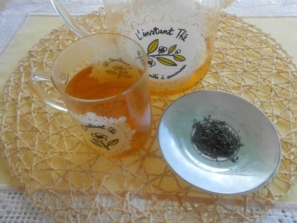Infusión Anticáncer 1: receta de té verde con cúrcuma al aroma de limón