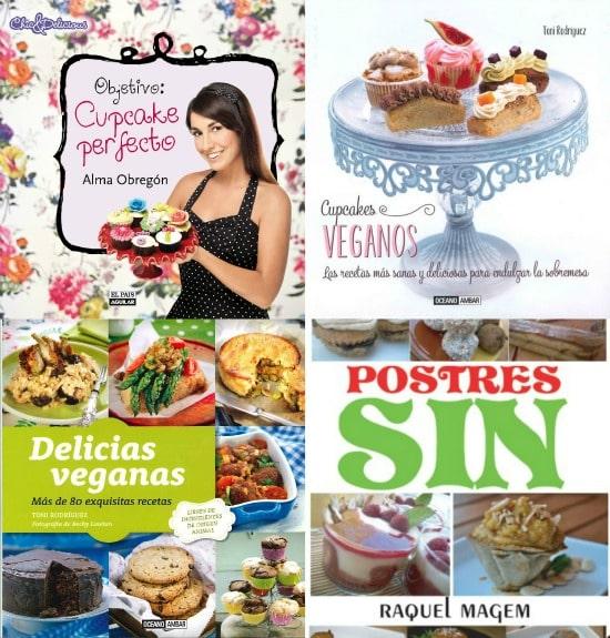 libros veganos cupcakes