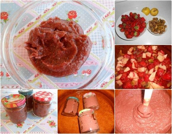 mermelada fresas pasos