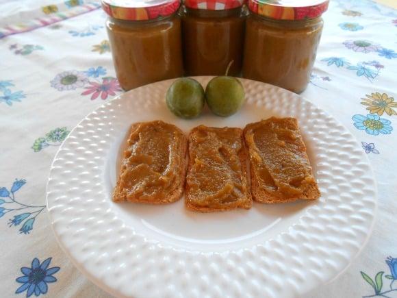 mermelada ciruelas y melocotones