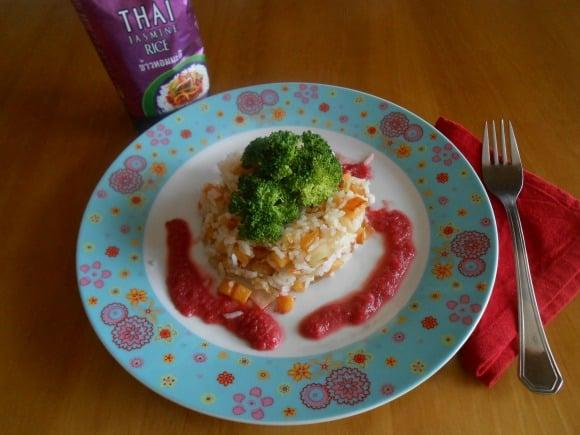 arroz Thai con verduritas