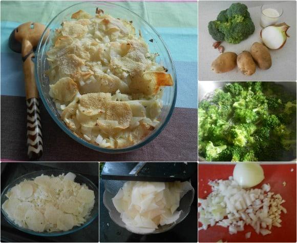 gratinados patatas