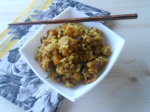 arroz con frutos secos