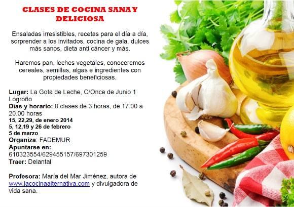 Clases De Cocina | Agenda La Cocina Alternativa