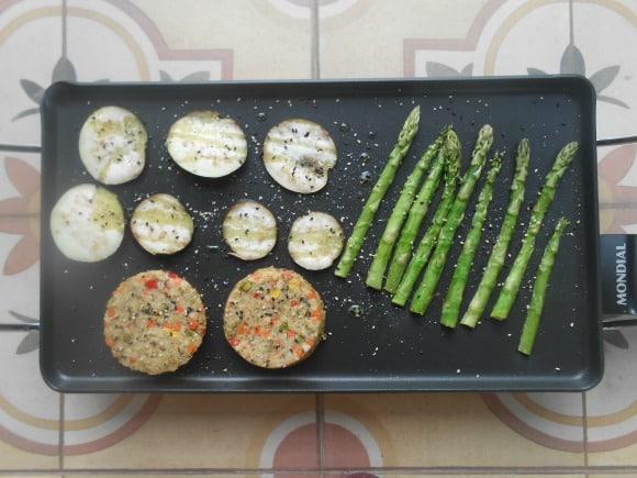 Cocinando a la plancha