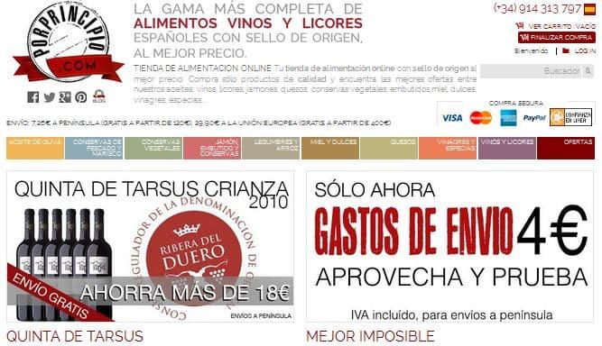 Porprincipio, productos españoles con sello de origen