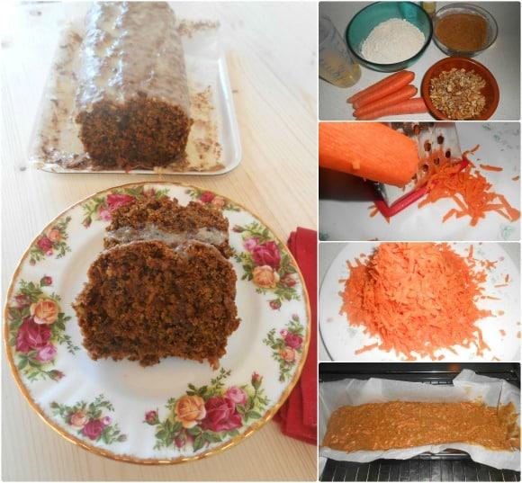 carrot cake pasos