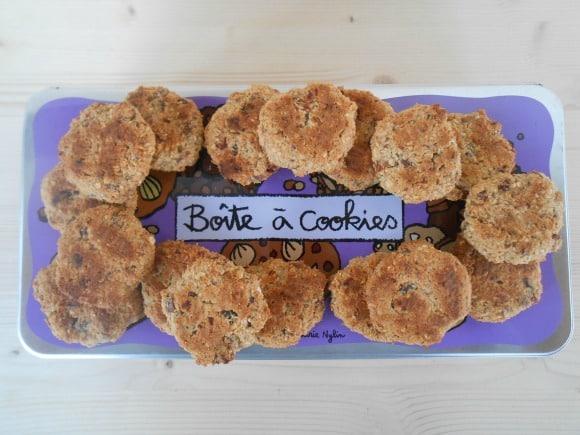 Receta de cookies de avena con 5 ingredientes (sin azúcar, sin harina y veganas)