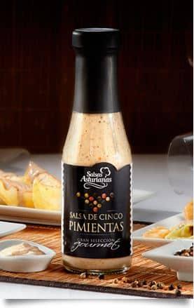 salsa de 5 pimienttas foto