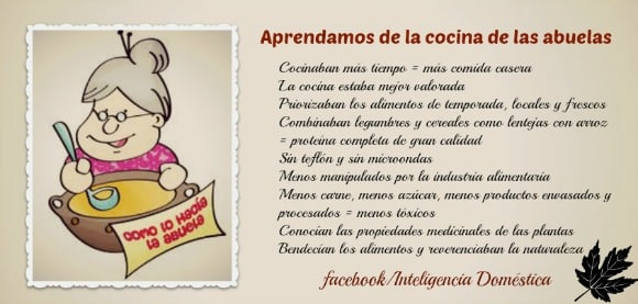 la cocina de las abuelas