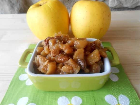 Receta de chutney de manzana