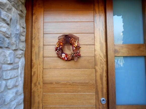 corona puerta