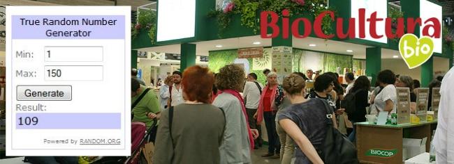 Ganadores sorteo Biocultura Barcelona 2015 en LCA