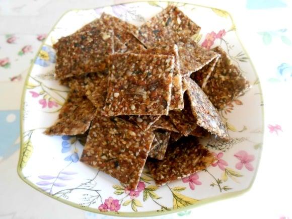 crackers dulces plato