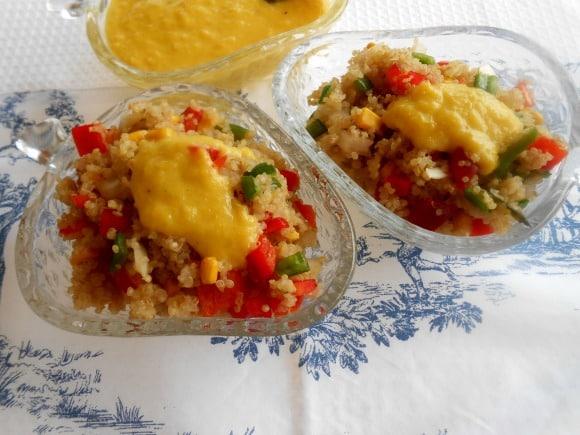 quinoa mango