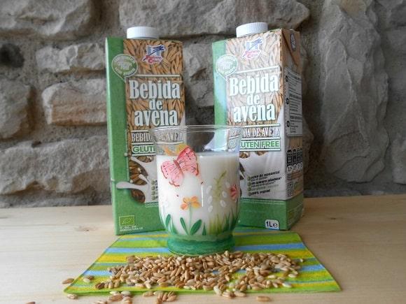 Bebidas vegetales ecológicas sin gluten