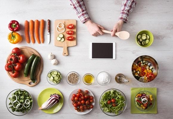 Apps cocina vegetariana y vegana