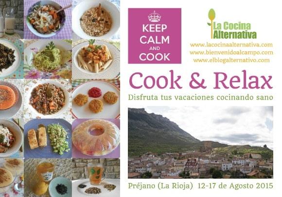 COOK & RELAX: disfruta tus vacaciones cocinando sano