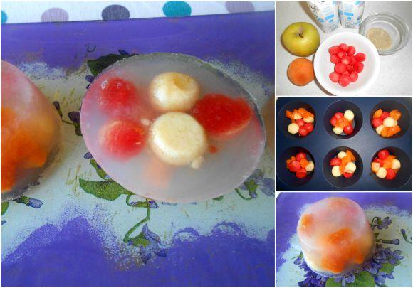 gelatina agua de coco pasos