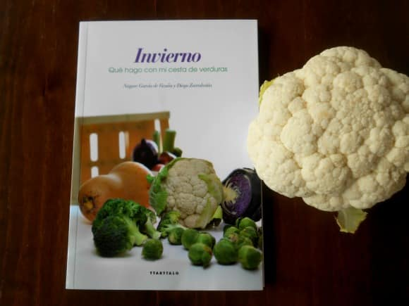 """""""INVIERNO. Qué hago con mi cesta de verduras"""": un libro muy útil"""