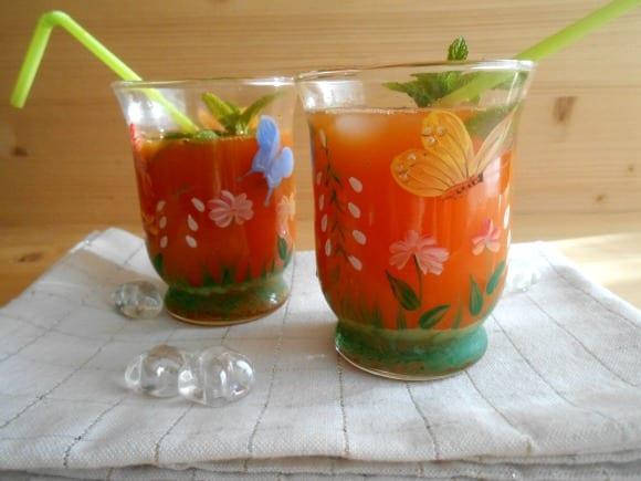 coctel zanahoria