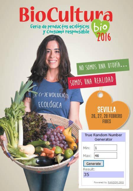 Ganadores LCA Biocultura Sevilla 2016