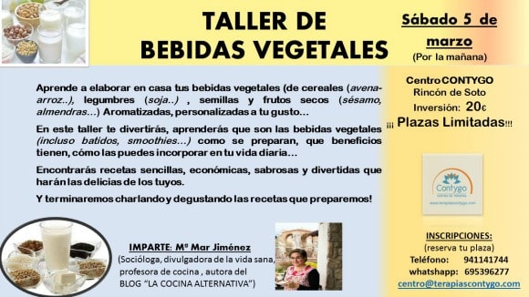 TALLER DE  BEBIDAS VEGETALES mod2