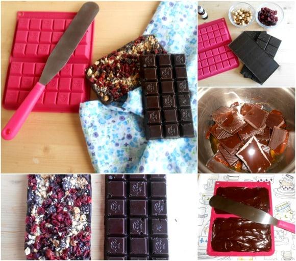 chocolate menta pasos