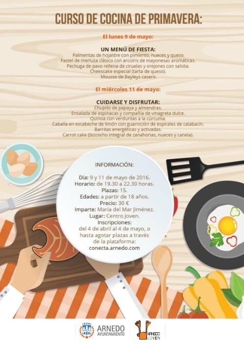 cocina_primavera. ok. 15 plazas