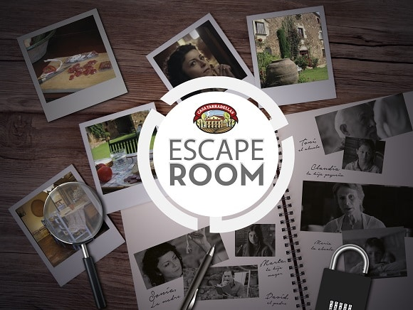 escape room de Casa Tarradellas