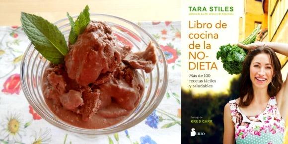 """Helado choco-coco-menta. La cocina de la """"NO-dieta"""" de Tara Stiles"""