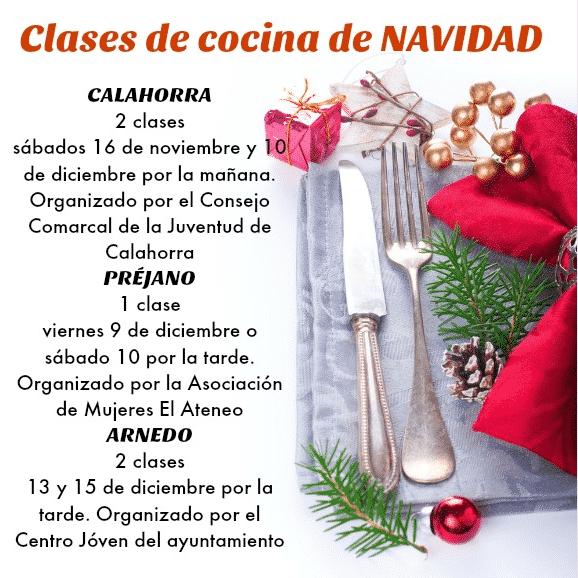 clases navidad
