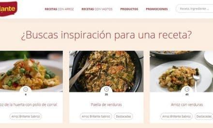 Brillante: la web de recetas de arroz